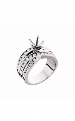 HL Mfg Contemporary Collections Engagement Ring 10591W product image