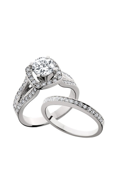 HL Mfg Engagement Sets Engagement Ring 10560WSET product image