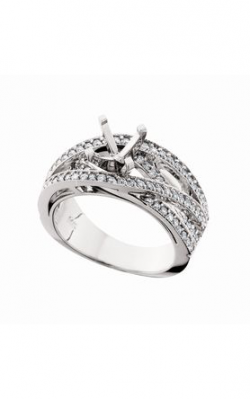HL Mfg Contemporary Collections Engagement Ring 10572W product image