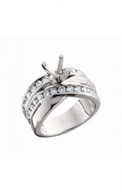 HL Mfg Contemporary Collections Engagement Ring 10487W product image