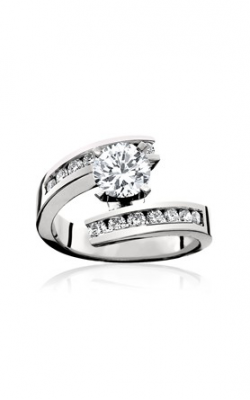 HL Mfg Contemporary Collections Engagement ring 10463W product image