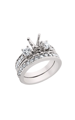 HL Mfg Engagement Sets Engagement ring 10497WSET product image