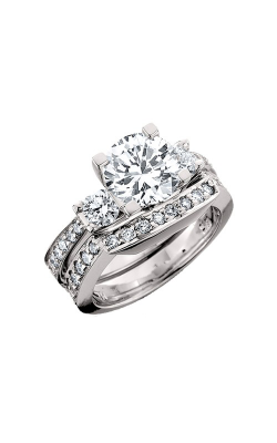 HL Mfg Engagement Sets Engagement ring 10435WSET product image