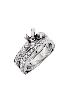 HL Mfg Engagement Sets Engagement ring 10424WSET product image
