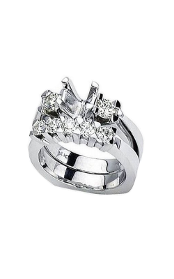 HL Mfg Engagement Sets Engagement ring 10397WSET product image