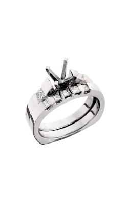 HL Mfg Engagement Sets Engagement ring 10384WSET product image