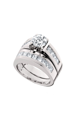 HL Mfg Engagement Sets Engagement ring 10383WSET product image