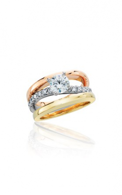 HL Mfg Contemporary Collections Engagement ring 10769TRI product image