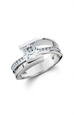 HL Mfg Contemporary Collections Engagement ring 10786W product image