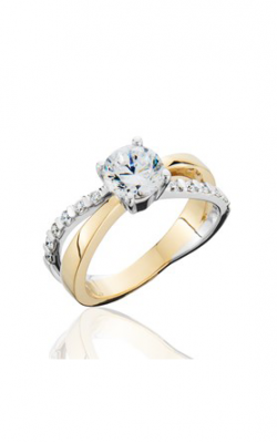 HL Mfg Contemporary Collections Engagement ring 10743TT product image