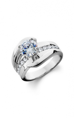 HL Mfg Contemporary Collections Engagement ring 10776W product image