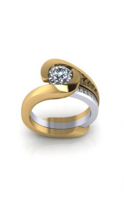 HL Mfg Contemporary Collections Engagement ring 10752 product image