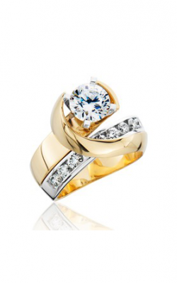 HL Mfg Contemporary Collections Engagement ring 10727TT product image