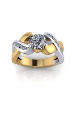 HL Mfg Contemporary Collections Engagement ring 10753 product image