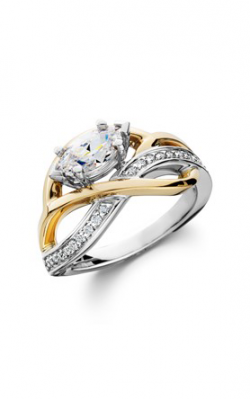 HL Mfg Contemporary Collections Engagement ring 10780TT product image