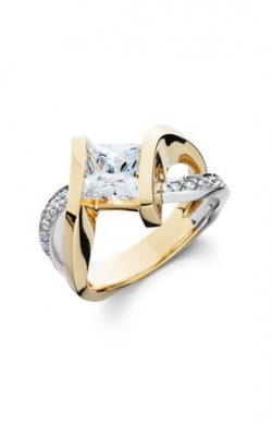 HL Mfg Contemporary Collections Engagement ring 10685PCTT product image