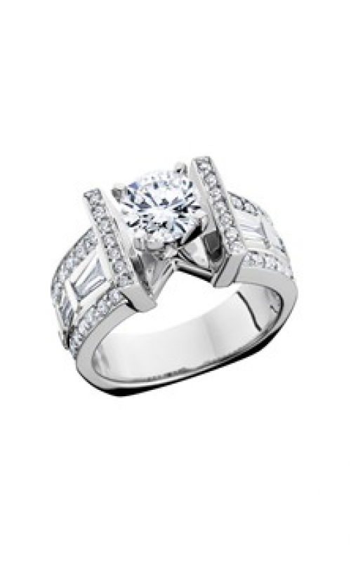 HL Mfg Modern Classics Engagement ring 10705W product image