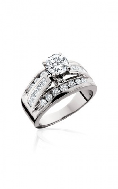 HL Mfg Modern Classics Engagement ring 10628W product image