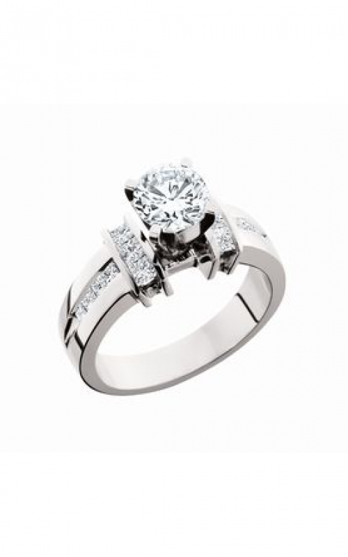 HL Mfg Modern Classics Engagement ring 10609W product image