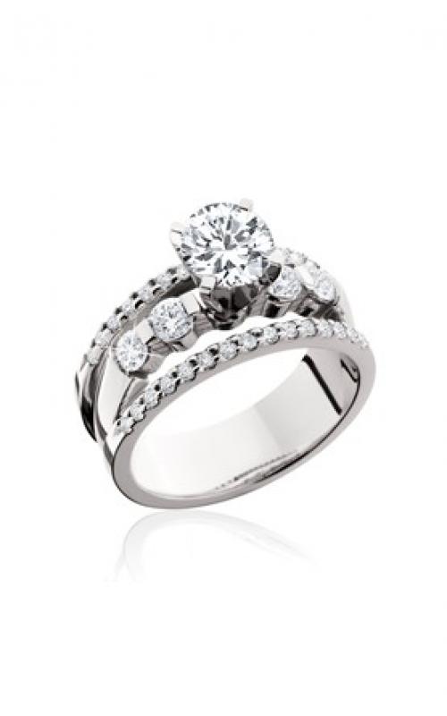 HL Mfg Modern Classics Engagement ring 10596W product image
