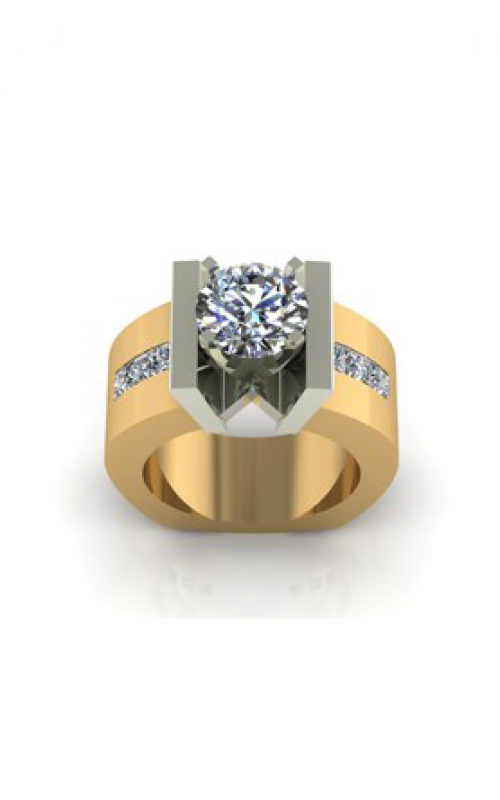 HL Mfg Modern Classics Engagement ring 10583TT product image