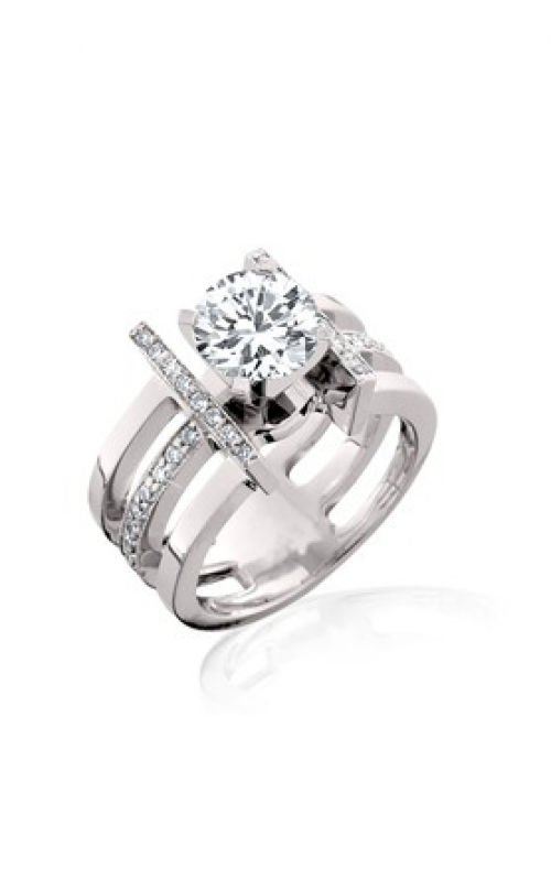 HL Mfg Modern Classics Engagement ring 10498W product image
