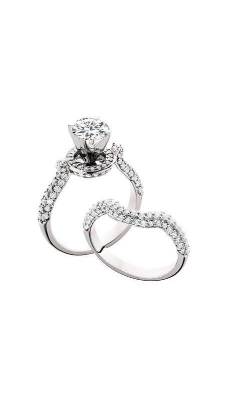 HL Mfg Engagement Sets Engagement ring 10598WSET product image
