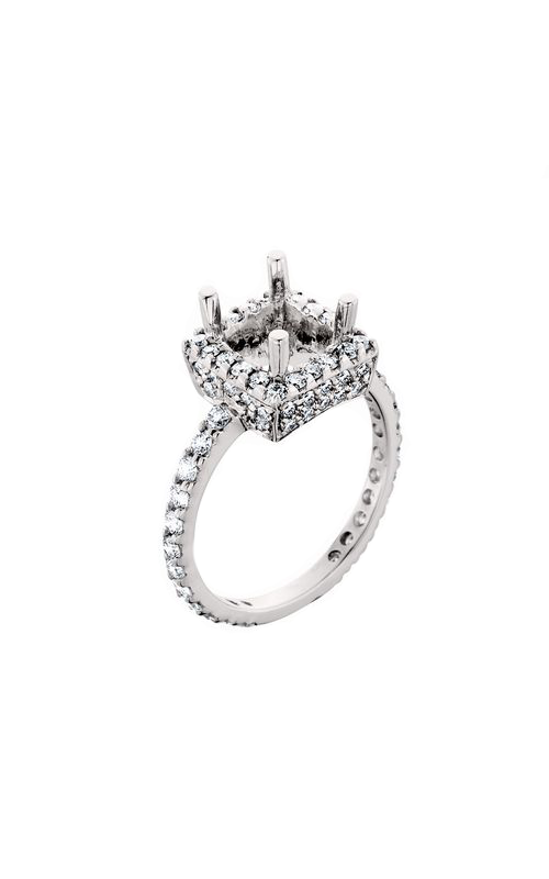 HL Mfg Halo Engagement ring 10533W product image