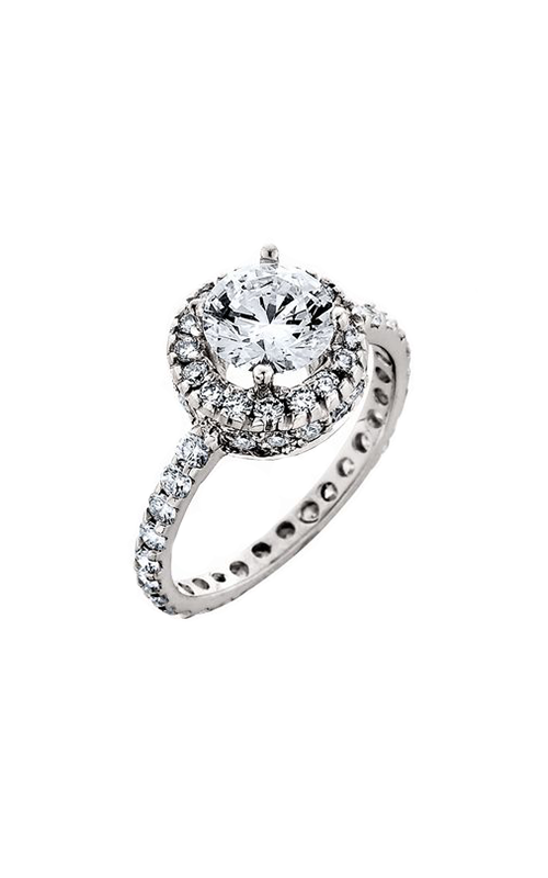 HL Mfg Halo Engagement ring 10432W product image