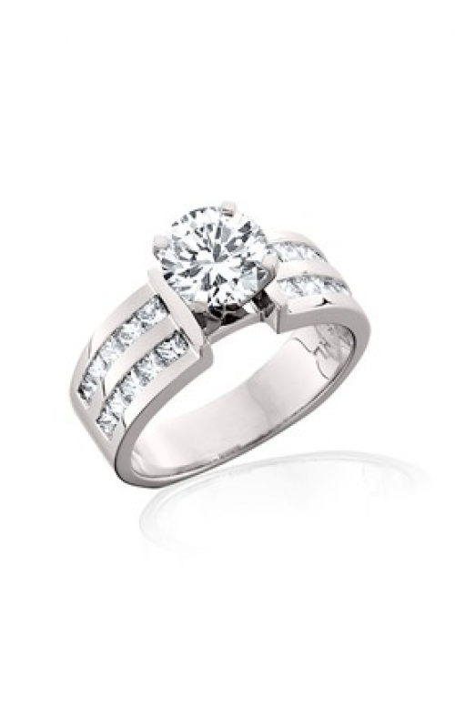 HL Mfg Modern Classics Engagement ring 10474W product image
