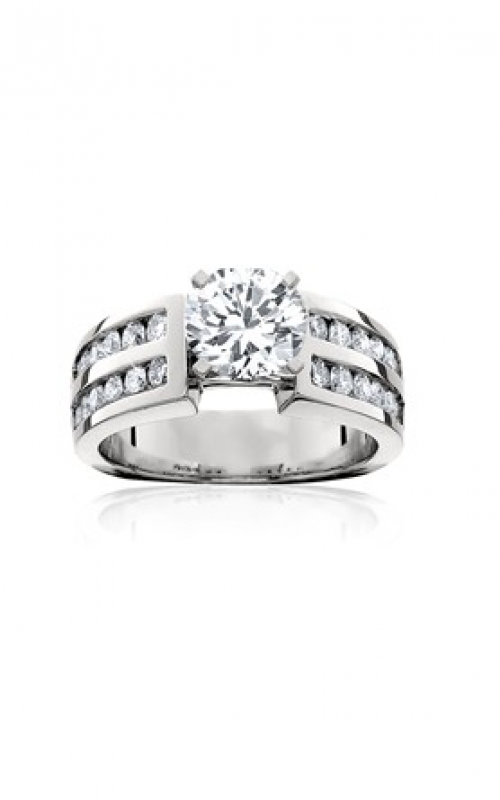 HL Mfg Modern Classics Engagement ring 10458W product image