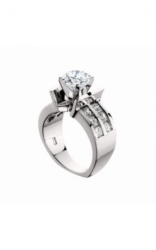 HL Mfg Modern Classics Engagement ring 10418W product image