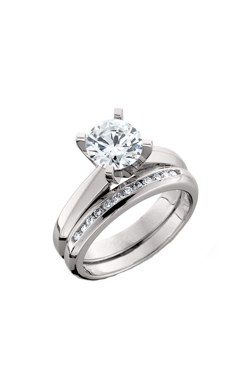 HL Mfg Engagement Sets Engagement ring 1480WSET product image