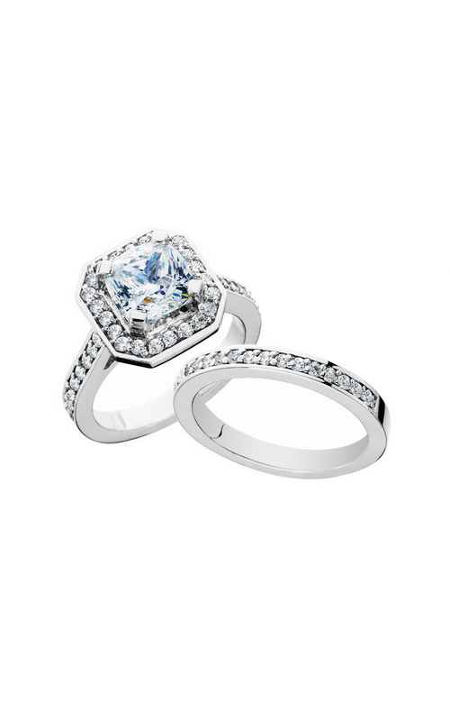 HL Mfg Engagement Sets Engagement ring 10672WSET product image