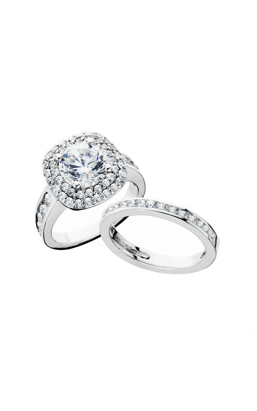 HL Mfg Engagement Sets Engagement ring 10668WSET product image