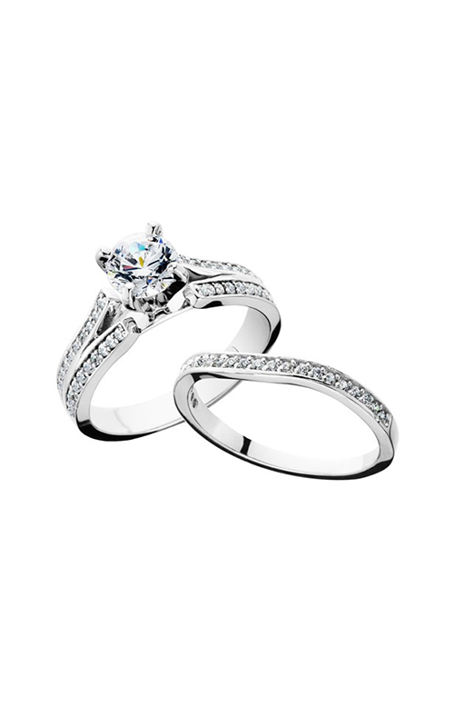 HL Mfg Engagement Sets Engagement ring 10654WSET product image