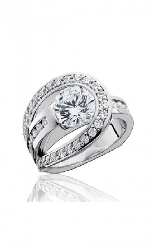 HL Mfg Contemporary Collections Engagement ring 10746 product image