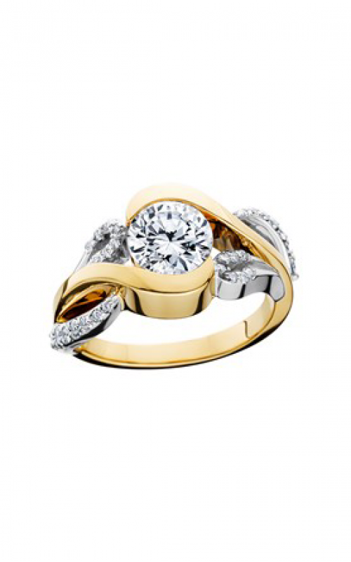 HL Mfg Contemporary Collections Engagement ring 10706 product image