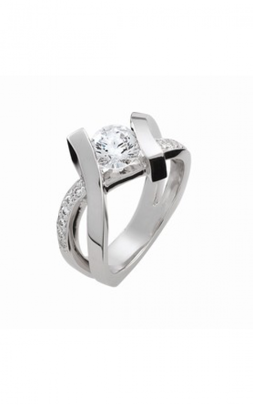 HL Mfg Contemporary Collections Engagement ring 10685W product image