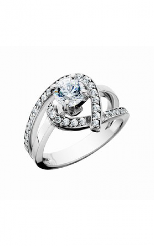 HL Mfg Contemporary Collections Engagement ring 10669W product image
