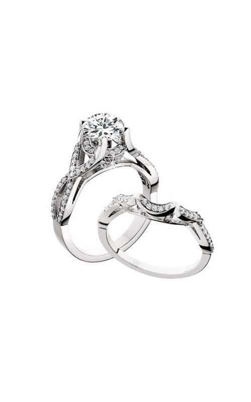 HL Mfg Engagement Sets Engagement ring 10617WSET product image