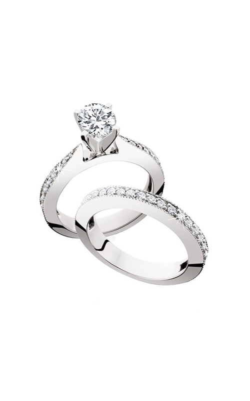 HL Mfg Engagement Sets Engagement ring 10603WSET product image