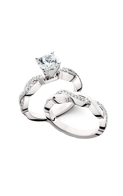 HL Mfg Engagement Sets Engagement ring 10602WSET product image