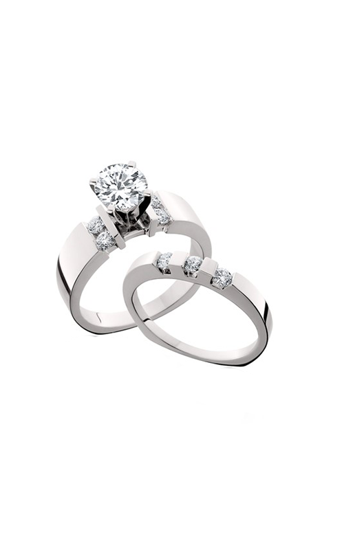 HL Mfg Engagement Sets Engagement ring 10556WSET product image
