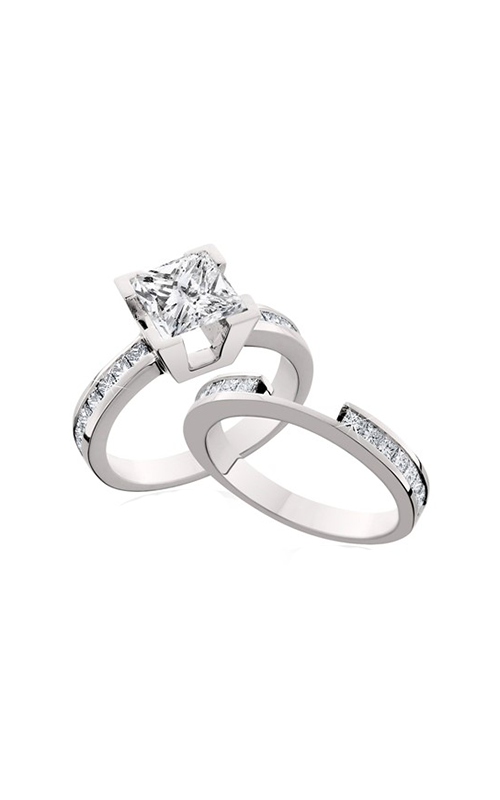 HL Mfg Engagement Sets Engagement ring 10555WSET product image