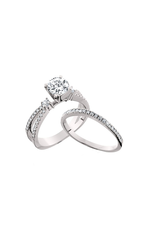 HL Mfg Engagement Sets Engagement ring 10547WSET product image