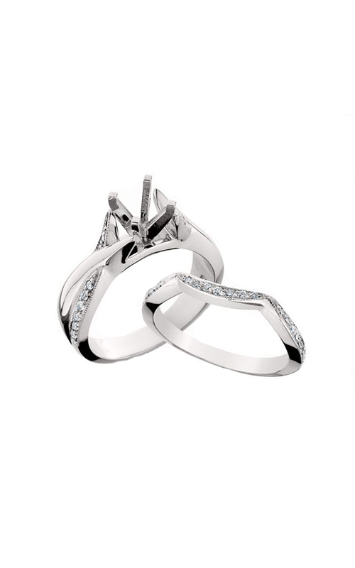 HL Mfg Engagement Sets Engagement ring 10523WSET product image