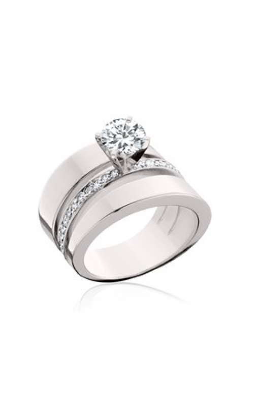 HL Mfg Contemporary Collections Engagement ring 10453W product image