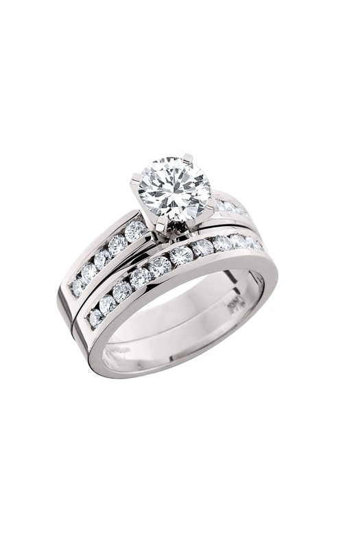 HL Mfg Engagement Sets Engagement ring 10489WSET product image