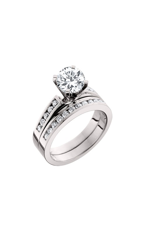 HL Mfg Engagement Sets Engagement ring 10485WSET product image